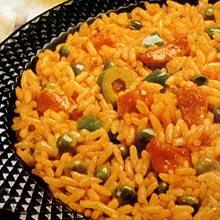 Mmm, arroz con gandules